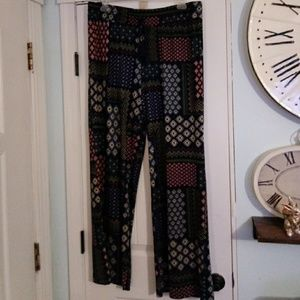 Wide leg comfy slacks new without tags
